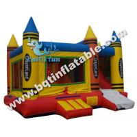Wholesale Inflatable crayon castle slide,inflatable crayonland combo from china suppliers