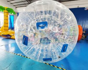 Wholesale Transparent Ground Bubble Games Zorbing Ramp Inflatable Zorb Ball from china suppliers