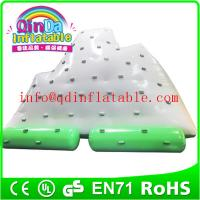 Wholesale Qin Da inflatable water sport games small ice tower inflatable water mountain from china suppliers