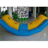 Wholesale Children PVC Material Floating Seesaw Inflatable Boat For Water Games from china suppliers