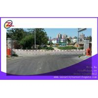 China Custom Double fence RS 485 Tubular Barrier Gates / Traffic Arm Barriers on sale