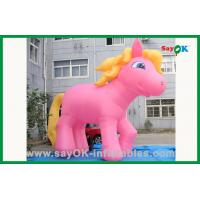 Wholesale Pink Inflatable Horse Inflatable Cartoon Characters For Advertising from china suppliers