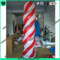 Wholesale Event Party Decoration 3m Inflatable Column Pillar With LED Light from china suppliers