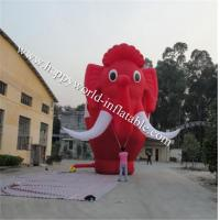 Wholesale Giant inflatable, eye catching mammoth from china suppliers