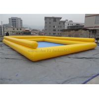 China Large Portable PVC Water Ball Pool , Outdoor TPU Body Zorb Ball Pool on sale