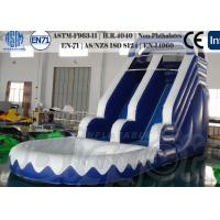 Wholesale PVC Inflatable Water Slide Small Pool Tested EN-71 with fire-resistant from china suppliers