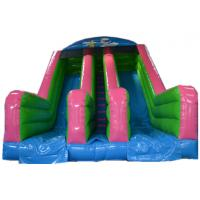 China Fashional Bounce House With Water Slide Baby Activity Commercial Bounce House Water Slide on sale