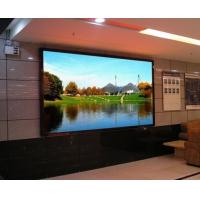 China SMD 3528 Indoor Advertising LED Display / 10mm LED Display / LED Modules For TV SHOW on sale
