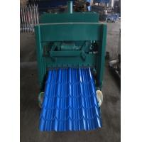 Wholesale Metal Sheet Glazed Tile Roll Forming Machine For Building Material Production from china suppliers