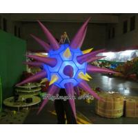 China Decorative LED Inflatable Star for Halloween and Bar Decoration on sale