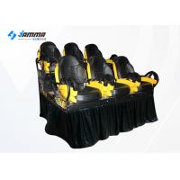 Wholesale 6 Seats Motion Chair 7D Cinema Simulator With Special Effects from china suppliers