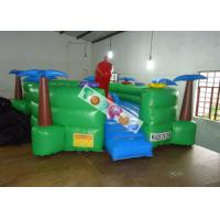 Wholesale 0.45mm PVC Tarpaulin Inflatable Amusement Park Turtle Playground With Slide And Tunnels from china suppliers