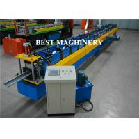 Aluminum Galvanized PVC Roofing Gutter Roll Forming Machine Hall Round