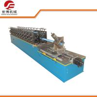 Wholesale Light Steel Keel Cold Roll Forming Machine Omega Hat Furring Channel from china suppliers