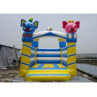 Wholesale PVC Tarpaulin Castle Type Inflatable Elephant Castle / Jumping Bouncy Castle For Kids   from china suppliers
