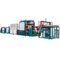 PLC Forming Polystyrene Production Line 1000X1250 Forming Area With Hydraulic System for sale