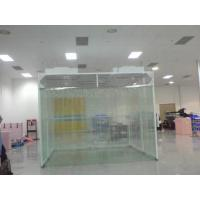 Wholesale Smooth Operated Prefabricated Clean Room , Mobile Clean Room Fan Filter Unit Inside from china suppliers