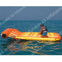 China 0.55mm pvc tarpaulin Fly Fishing PVC Inflatable Boat / Inflatable Banana Boat on sale