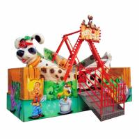 Wholesale Small Kids Pirate Ship Ride 16 Riders With Cute Puppy Cockpit Height 4m from china suppliers