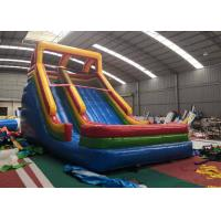 Wholesale Colorful  Playground Bounce House Water Slide UV Protection Oil Layer from china suppliers