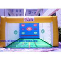 Wholesale 0.55mm PVC Commercial Inflatable Sports Games / Inflatable Squash Court from china suppliers