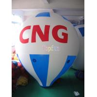 Wholesale 5m Long 0.18mm PVC Helium Inflatable Advertising Balloons With Custom Logo / Artwork from china suppliers