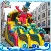 Inflatable Water Slide Toy for Water Game Park Giant Inflatable Water Pool Slide for sale