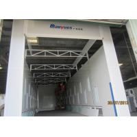 Electric Damper Side Downdraft Spray Booth , Industrial Paint Booth Equipment