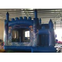 Buy cheap Yard Inflatable Bouncy Jumping Castles With Zipper Outlets To Deflate The from wholesalers