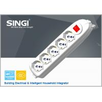Wholesale 5 6 8 Multi Outlet Power Strip Extension Cord Socket With Switch from china suppliers