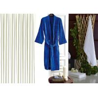 Wholesale Colored Luxury Hotel Patterned Toweling Bath Robe , Womens Luxury Dressing Gown from china suppliers
