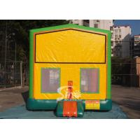 13x13 commercial inflatable module bounce house with various panels made of 18 OZ. PVC tarpaulin