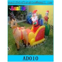 Wholesale Inflatable Christmas Decorations , Airblown Inflatable Christmas Tree For Kids from china suppliers