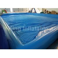 Buy cheap Giant Rectangular 20 X 15m Inflatable Swimming Pools Durable And Airtight from wholesalers