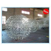 Wholesale PVC Clear Inflatable Zorb Ball / Inflatable Human Hamster Ball For Inflatable Zorb Ramp from china suppliers