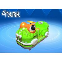 Wholesale Outdoor Playground Kids Ride On Car / Frog Battery Powered Bumper Cars With LED Light from china suppliers