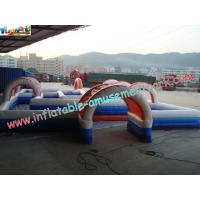 Wholesale Water-proof Inflatable Sports Games , Inflatable Car Race Track from china suppliers