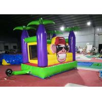 Wholesale Durable Bouncer Inflatable Jumper / Jungle Monkey Monkey Bounce House from china suppliers