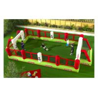 Buy cheap convenient to carry inflatable soccer field for game from wholesalers