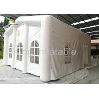 Wholesale Outdoor White 6X5m Inflatable Event Tent For Hospital Military Use 2 Years Gurantee from china suppliers