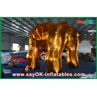 China Outside Promotion Oxford Cloth Inflatable Model Gold Bull for Advertising on sale