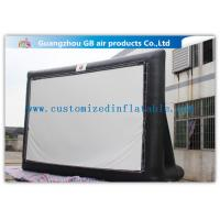 Wholesale Large Inflatable Movie Screen Outdoor Cinema 8 X 4.5m Free Logo Printing from china suppliers