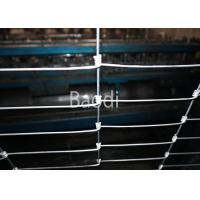 Wholesale Hinge Joint Knot Woven Field Fence Made Of Galvanized Iron Wire Fence from china suppliers