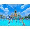 Buy cheap Anti - UV Amusement Park 30m3/H Aquatic Playground Equipment from wholesalers