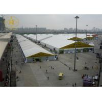 Wholesale Custom 15*100M Trade Show Tent Heat Resistant Fabric Modular Aluminum Frame from china suppliers