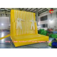 Buy cheap Leisure Games Inflatable Climbing Wall / Inflatable Magic Sticky Wall For from wholesalers