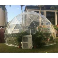 Wholesale UV - Treated Clear Camping Tent Half Sphere Geodesic Dome Wedding Tent from china suppliers