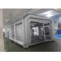 Wholesale Environmental Mini Blow Up Spray Booth For Car Cover / Automotive Paint Booth from china suppliers