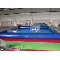 China Inflatable Family Swimming Pool With Water Zorb Ball / Inflatable Water Pool on sale