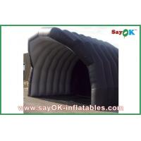Wholesale Inflatable Air Tight Tent Building Black Large Inflatable Tent House For Camping from china suppliers